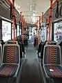 Brno, Řečkovice, autobus Škoda 21AB, interiér.JPG