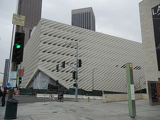 Eli Broad - The Broad museum under construction, 2015