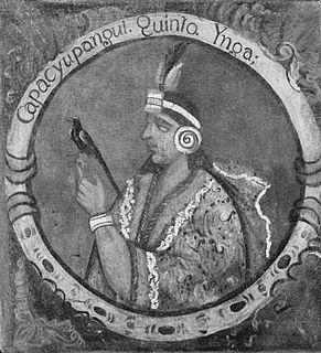 fifth Sapa Inca of the Kingdom of Cusco
