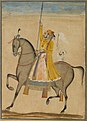 Brooklyn Museum - Equestrian Portrait of Maharaja Sujan Singh of Bikaner - Kasam Son of Muhammad.jpg