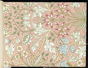 Wallpaper - Hyacinth, pattern #480 - 1915-17