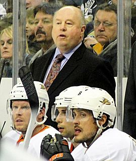 Bruce Boudreau Canadian ice hockey player and coach