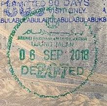 Visa policy of Brunei - Wikipedia
