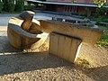 Brunnenanlage, 1966, Schulhaus Gehrenmatt in Arlesheim von Albert Schilling (1904–1987) Bildhauer (2).jpg
