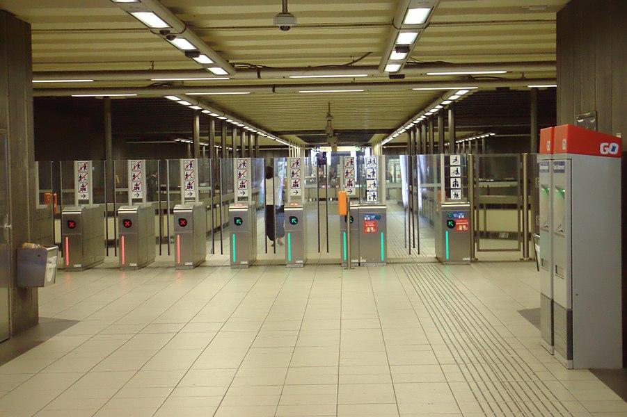 Comte de Flandre Metro station, Blegium