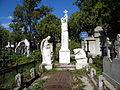 Bucuresti, Romania, Cimitirul Bellu Ortodox - Serban Voda (Mormantul lui Costin D. Nenitescu).JPG