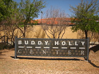 Buddy Holly Center Music museum and art gallery in Lubbock, Texas