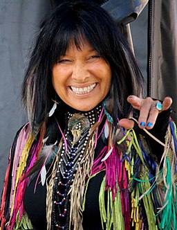 Buffy Ste. Marie - Truth and Reconciliation Commission Concert - Ottawa - 2015 (cropped)
