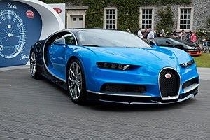 Bugatti Automobiles - Chiron