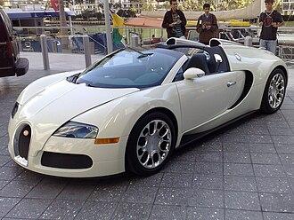 Bugatti Veyron - Bugatti Veyron Grand Sport