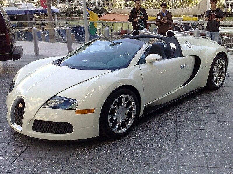 Bugatti Veyron: voiture très chère