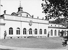 Schloss Monbijou, Ansicht des Mittelbaus von Eosander (Quelle: Wikimedia)