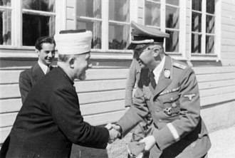 Relations between Nazi Germany and the Arab world - Haj Amin al-Husseini meeting with Heinrich Himmler (1943).