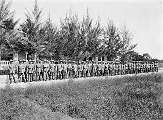 Schutztruppe - Schutztruppen, colonial volunteer contingent, German East Africa, 1914