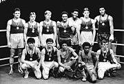 Bundesarchiv Bild 183-1983-0312-009, Halle-Saale, XII. Internationales Boxturnier, Boxer