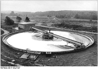 Wastewater treatment - Clarifiers are widely used for wastewater treatment.