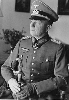 Paul Ludwig Ewald von Kleist German general during World War II