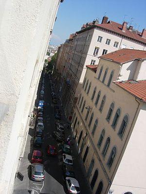 Rue Burdeau - Rue Burdeau, eastern side