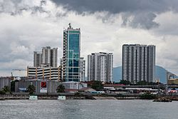 Skyline of Butterworth