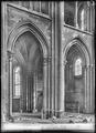 CH-NB - Lausanne, Cathédrale protestante Notre-Dame, vue partielle intérieure - Collection Max van Berchem - EAD-7309.tif