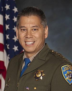 California Highway Patrol - CHP Commissioner Joe Farrow