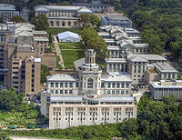 Carnegie Mellon University's quadrangle