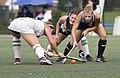 CNU Christopher Newport University Captains - York College Pennsylvania PA Spartans Field Hockey (22243850970).jpg