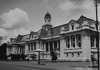 Bank Indonesia - The office of De Javasche Bank in Batavia (old Jakarta), presently the Bank Indonesia Museum.
