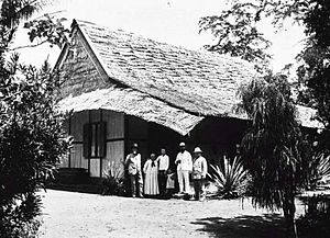 Maba, Indonesia - Missionaries in Buli near Maba around 1905-1914
