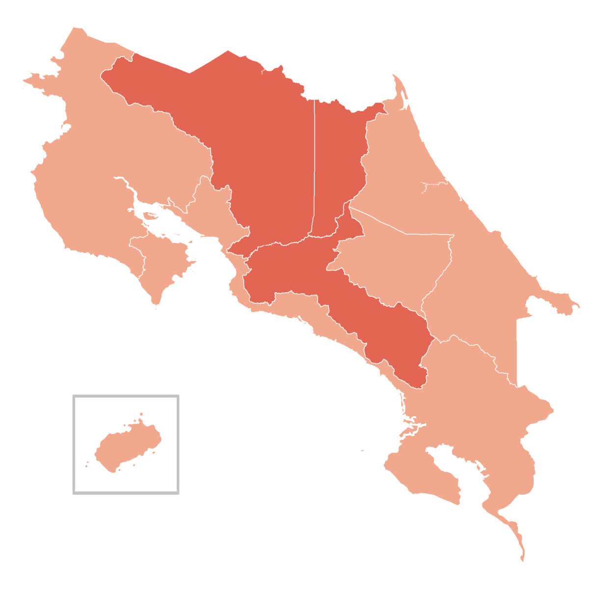 san antonio de belen costa rica map Covid 19 Pandemic In Costa Rica Wikipedia san antonio de belen costa rica map