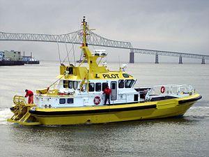 Maritime pilot - Columbia River Bar pilot boat CHINOOK