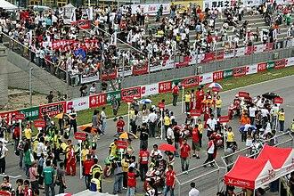 China Superbike Championship - China Superbike Championship at Beijing Goldenport Circuit.