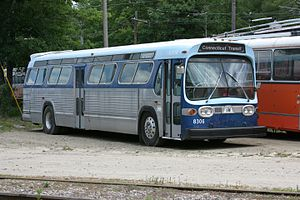 Connecticut Transit - Image: CT Transit 8306 at Seashore Trolley Museum, June 2007