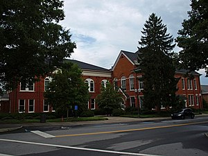 Clemson University Historic District II - Image: CU Hardin Hall Aug 2010