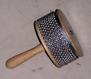 Rattle (percussion beater) - Image: Cabasa