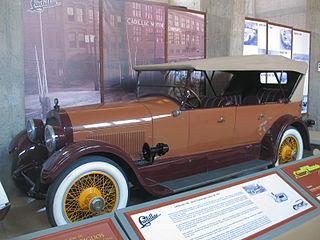Cadillac Type V-63 Motor vehicle