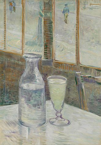 Health of Vincent van Gogh - Still Life with Absinthe, 1887, Van Gogh Museum