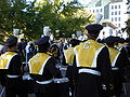 Cal Band en route to Memorial Stadium for 2008 Big Game 15.JPG