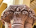 Calcutta High Court - Sculptured on the pillar 06.jpg