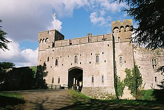 Caldicot Castle - The front entrance through the gatehouse