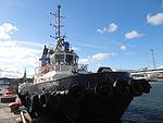 Calypso at Quay 8 Tallinn 9 September 2012.JPG
