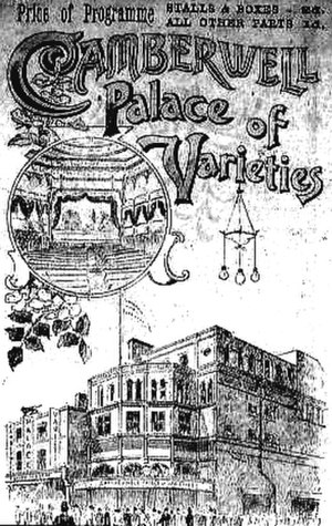 A215 road - The Camberwell Palace of Varieties.