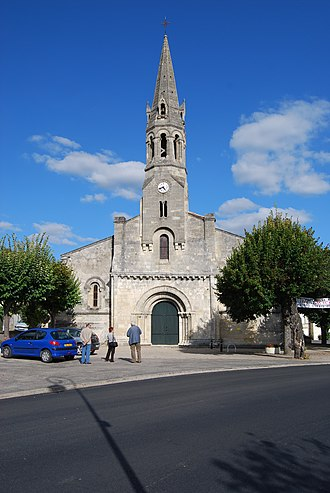 Cambes, Gironde - Image: Cambes Eglise St Martin 1