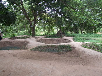 Mass graves at Choeung Ek, near Phnom Penh, Ca...