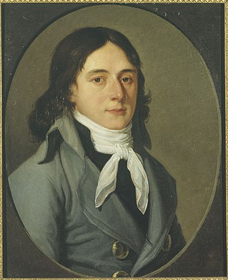 Camille Desmoulins - Portrait of Camille Desmoulins