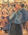 Camille Pissarro - Le Marché à la volaille, Pontoise - 1882.jpg
