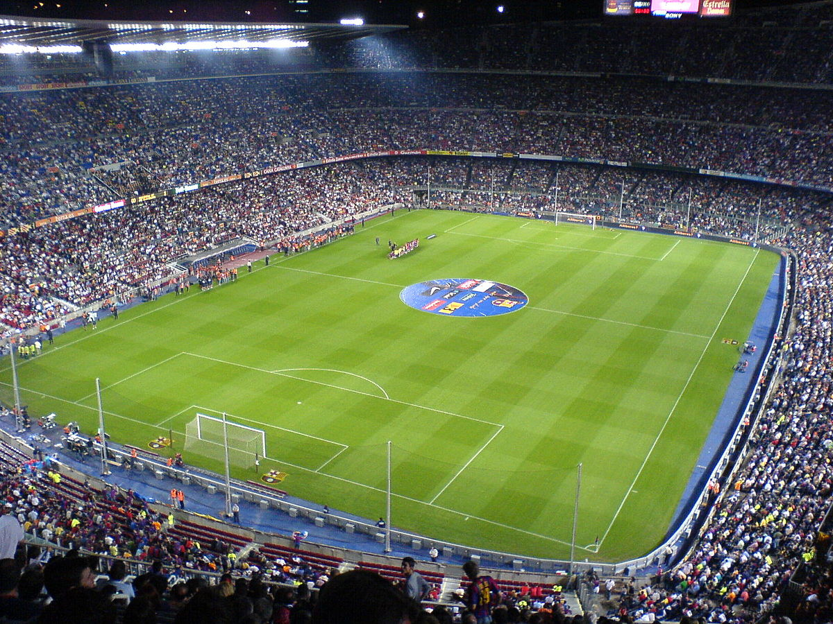 Camp nou wikip dia for Piscine w barcelone