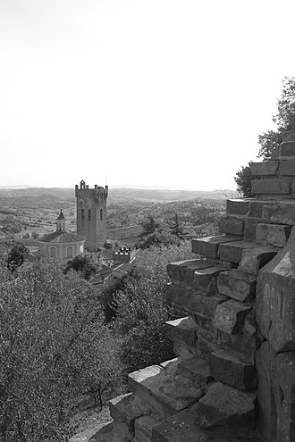 San Miniato - Bell tower of the Cathedral.