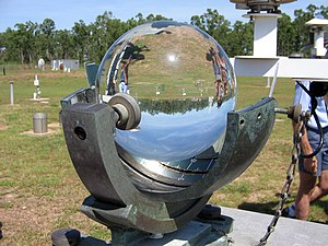 Sunshine duration - Campbell–Stokes recorder measures sunshine