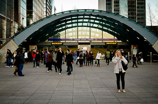 Canary Wharf Station Entrance